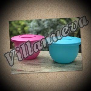 Tupperware Set Of 2 Small Murano Bowls
